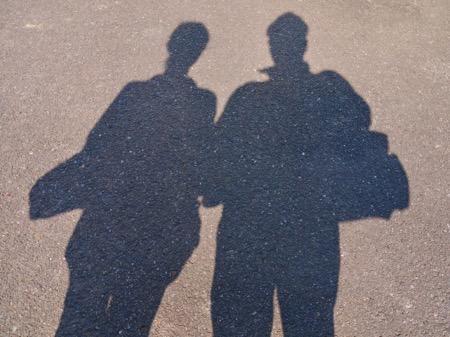 街角のカップル